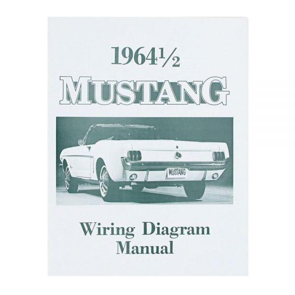 Elektrische Schaltpläne Mustang 1964 1/2 | Verlege- / Schaltpläne ...