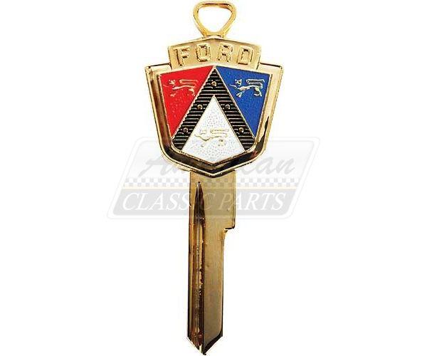 Schlüsselrohling, Tür-/Zündschloss, 1952-66, Jubiläumsausgabe