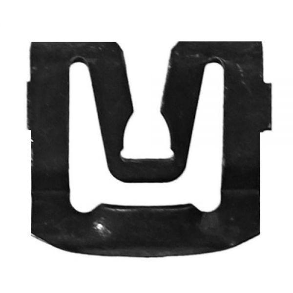 Zierleistenklip für Front- oder Heckscheibe, Bj.65-73