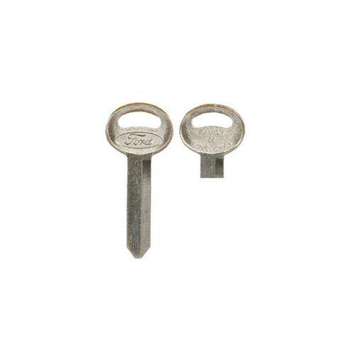 Schlüsselrohling, Kofferraumschloß, Mustang, Bj. 67-73 / F100-F350 Bj. 67-96