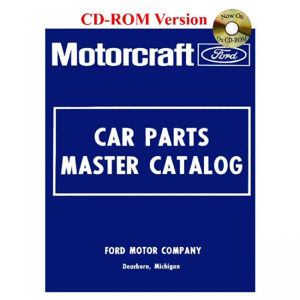 Ford Master Parts Catalog, CD, 1973-79