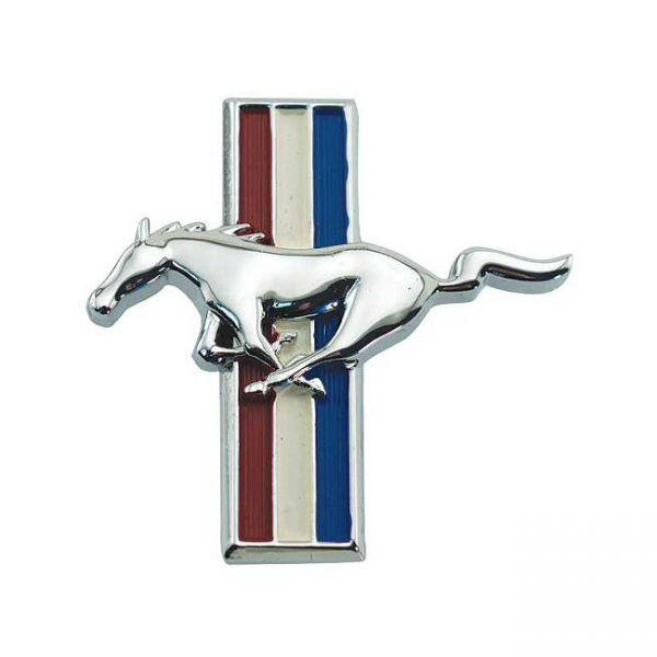 """""""Running Horse"""" Emblem Handschuhfachklappe, Bj 65-66"""
