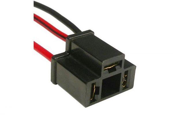 Stecker für H4 Glühlampe, 3 polig