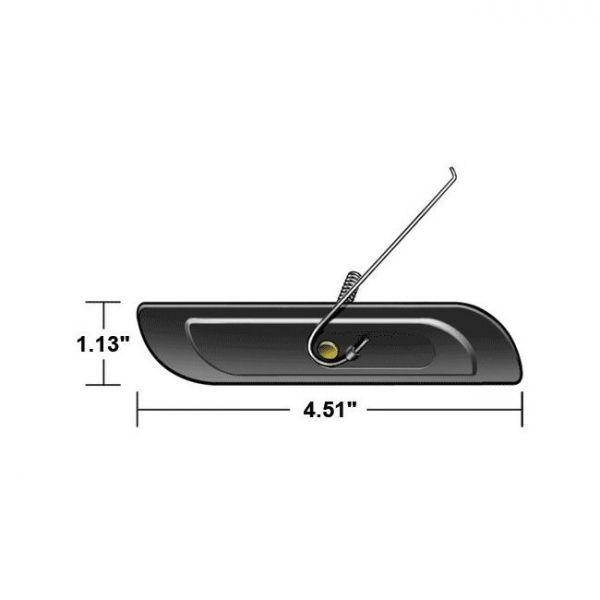 Universal Zierleistenclip 110x30 mm