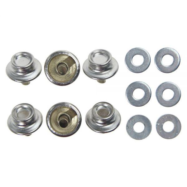 Druckverschlussknopf auf der Innenverkleidung, 6er Set, Bj 65-68