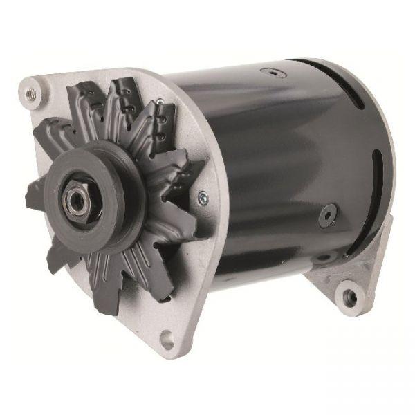 6V Drehstromlichtmaschine mit integriertem Regler, pos. Masse; One Wire