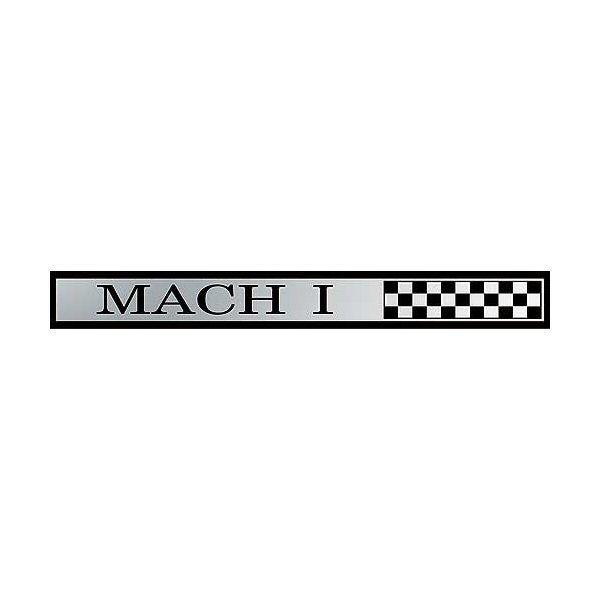 """""""Mach 1"""" Emblem Armaturenbrettverkleidung, Bj 69"""