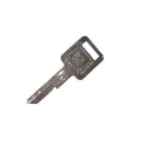 Schlüsselrohling, rechteckig, Typ C, Bj. 68-82