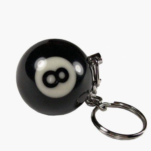 "Schlüsselanhänger Billiardkugel ""8 Ball"""