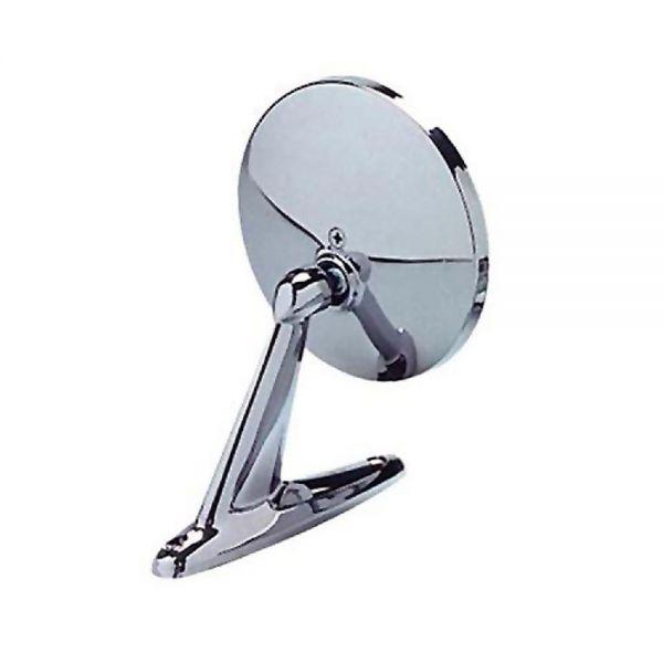 Außenspiegel, Universal, Chrom, Rund, RH=LH